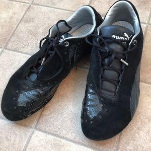 Puma Women's Black Sneakers Size 9.5
